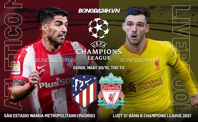 Bóng đá Debet – 10 điểm đáng chú ý trước trận Atletico vs Liverpool